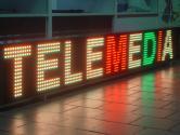 Trojfarebny LED panel 256x32 Telemedia