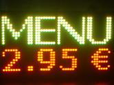 led panel menu