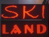 led panel ski land 2